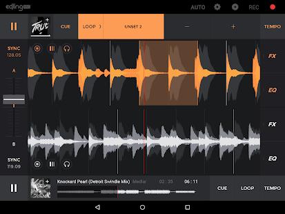 edjing PRO - Music DJ mixer - screenshot thumbnail