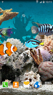 Coral Fish 3D Live Wallpaper- screenshot thumbnail