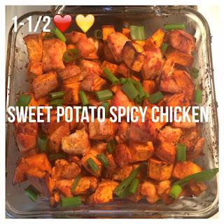 Sweet Potato Spicy Chicken