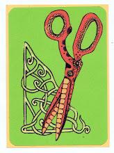 Photo: Wenckin's Mail Art 366 - Day 79, Card 79a