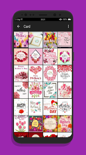 PC u7528 Happy Mother's Day Card 2