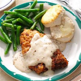 Chicken-Fried Steak & Gravy.