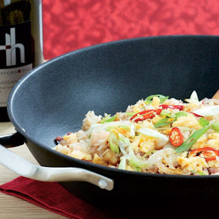 Prawn Fried Rice With Oyster Sauce.