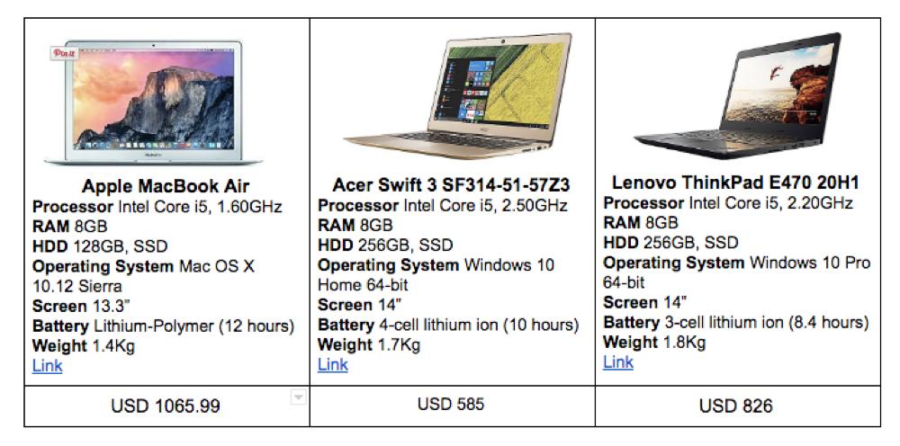 laptop recommendations