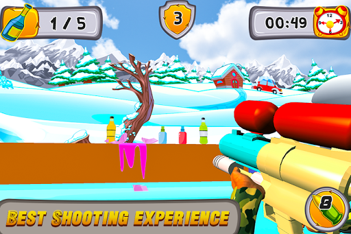 Kids Bottle Shooting  screenshots 4