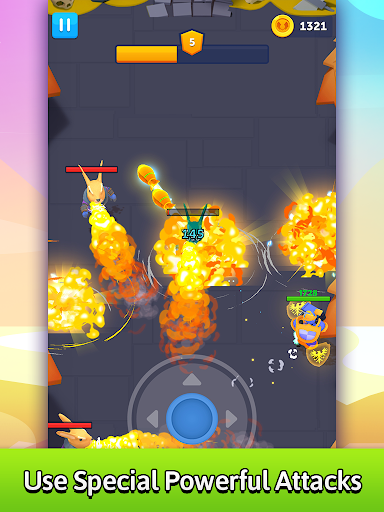 Bullet Knight: Dungeon Crawl Shooting Game screenshots 14