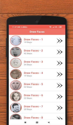 How to Draw Faces screenshots 6