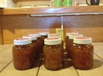 Canned Honey Spiced Pears Preserves Recipe