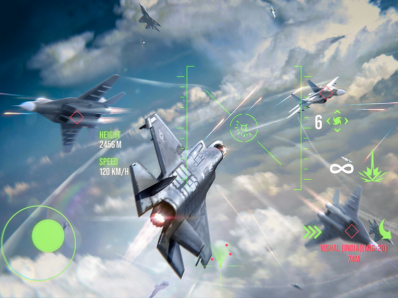 Modern Warplanes: Wargame Shooter PvP Jet Warfare Screenshot 10