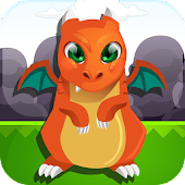 Baby Dragon Dash Jumping Game