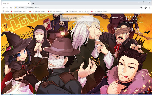 Golden Kamuy HD Wallpapers New Tab Themes