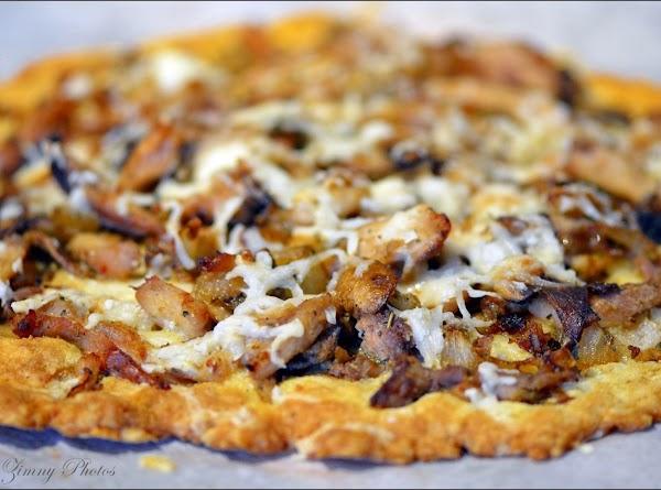 Coconut Flour Pizza Crust Recipe