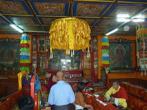 Photo: Interiér hlavního Geserského chrámu