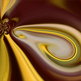 Golden moment by Kittie Groenewald - Abstract Patterns ( abstract, contrasts, lines )