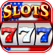 777 Slots: Red! White! Blue!