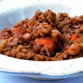Clean Eating Red Lentil Stew
