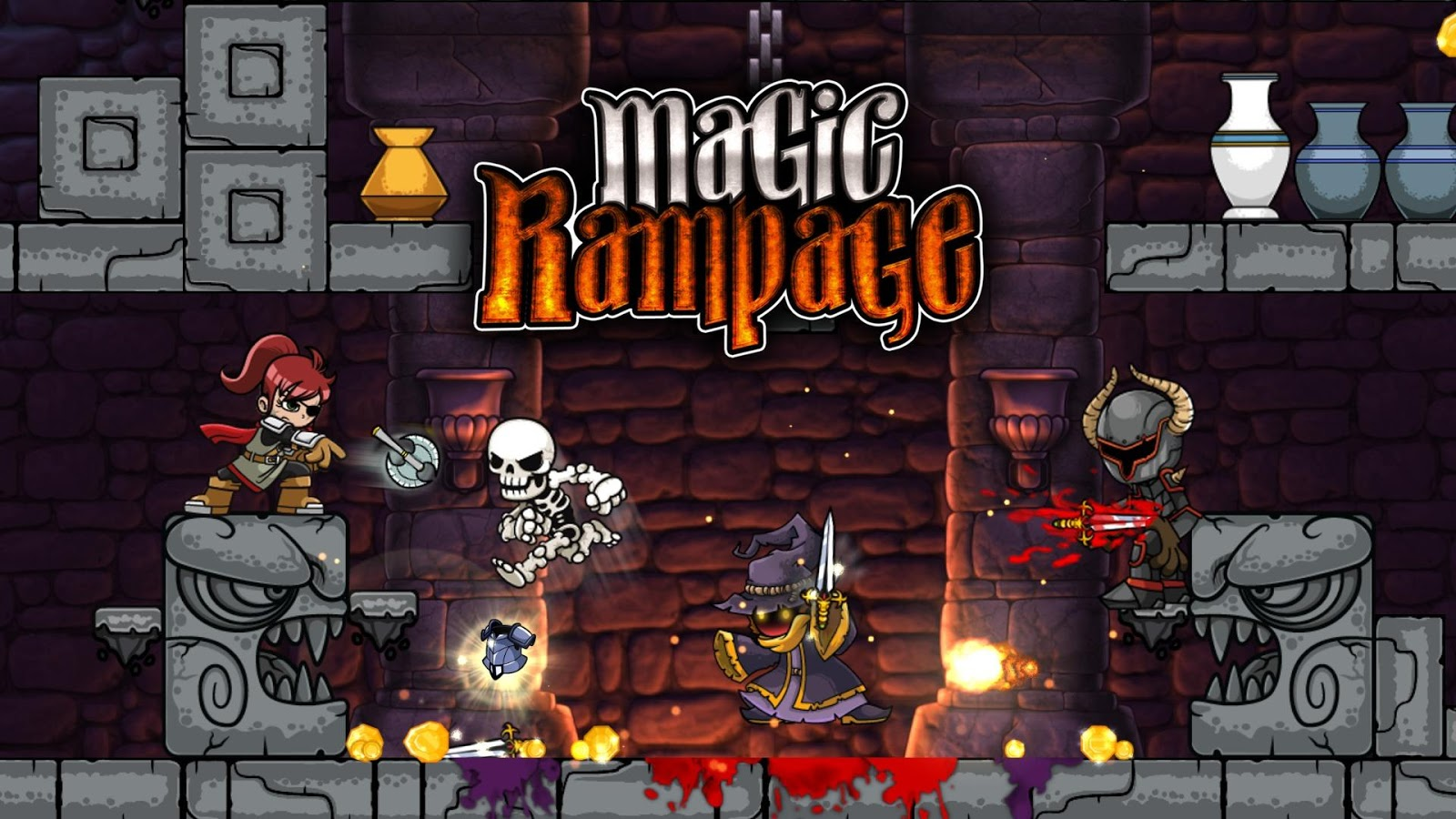 Magic Rampage – Capture d'écran