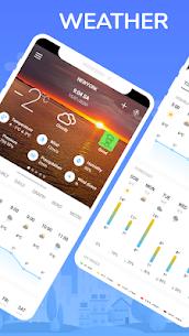 The weather timeline & weather – graphs & radar 1