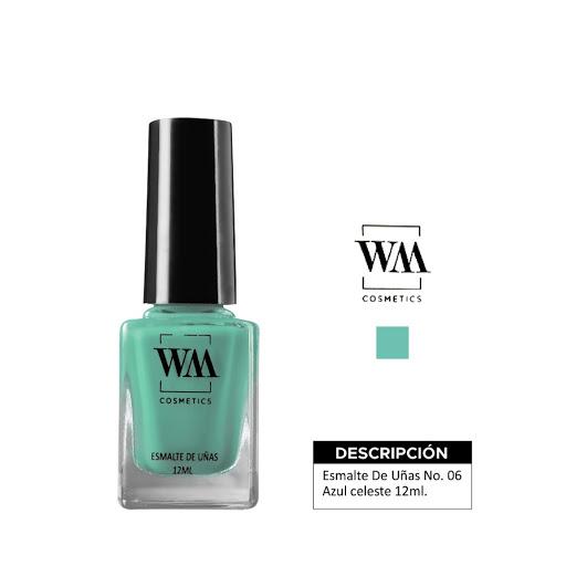 Esmalte WM 06 Azul Celeste 12 ML