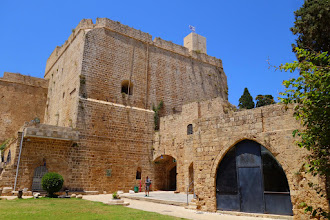 Photo: The visitor center of the crusader town of Acco, Israel.