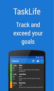 TaskLife Performance Tracker - screenshot thumbnail