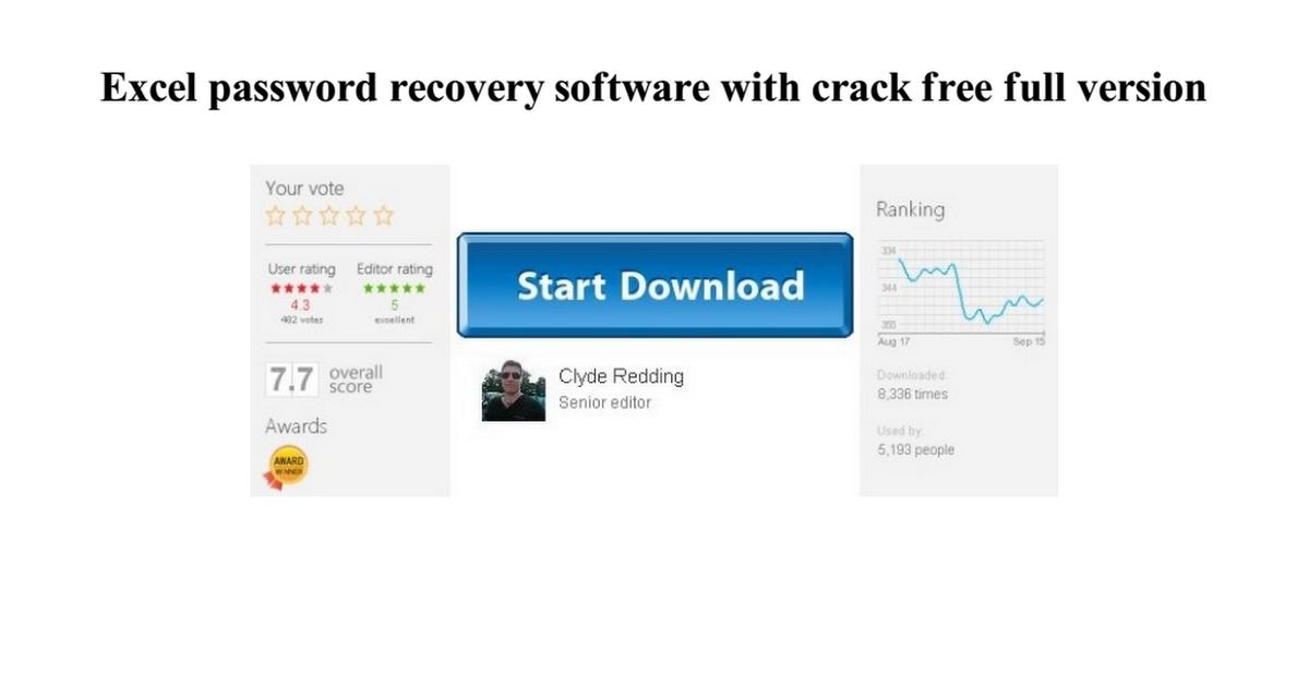 ms excel cracker free download