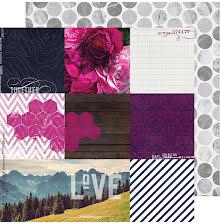 Heidi Swapp Hawthorne Double-Sided Cardstock 12X12 - 9th & 9th UTGÅENDE