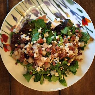 Pear And Prosciutto Salad.