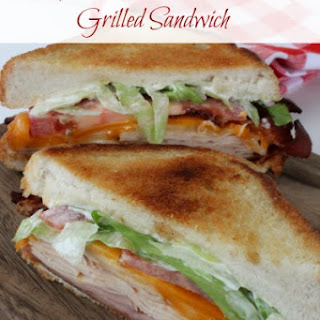 Copycat Applebee's Clubhouse Grilled Sandwich.