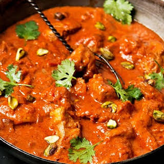 Zingy Butter Chicken Curry.
