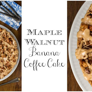 Maple Walnut Banana Coffee Cake Recipe