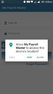 My Payroll Master - náhled