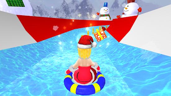 VR Waterslide Christmas Frozen Adventure - náhled