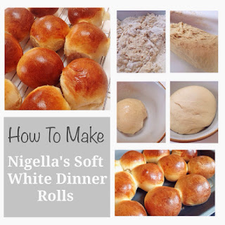 How To Make Nigella's Soft White Dinner Rolls.