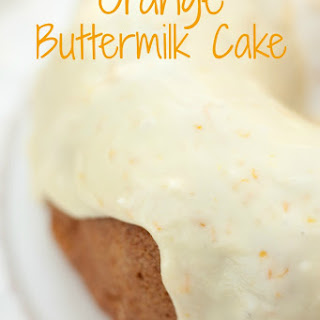Orange Buttermilk Cake!