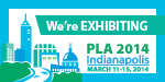 We're Exhibiting at PLA 2014!