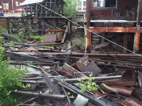 Photo: so much crap left behind!