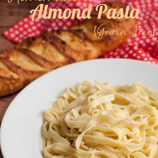 Homemade Almond Flour Pasta