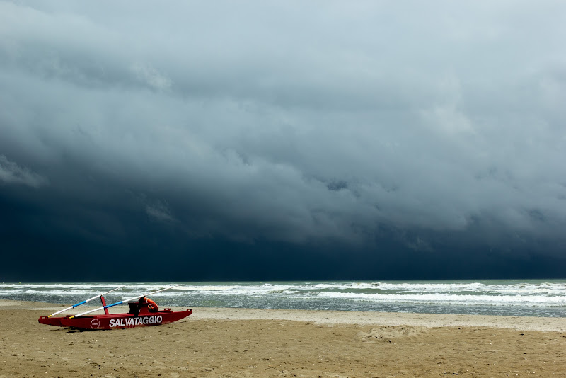 tempesta all'orizzonte di kareas
