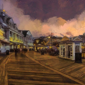 The Board Walk of Life by Oliver Petersen - Buildings & Architecture Public & Historical