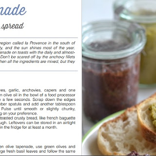 Green Olive Tapenade and a Cookbook Giveaway!