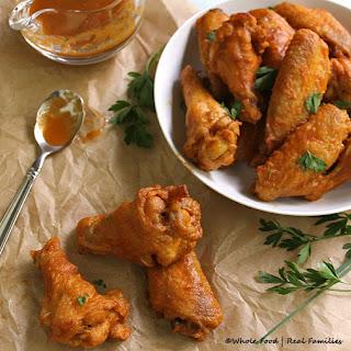 Roasted Pepper Hot Wings.