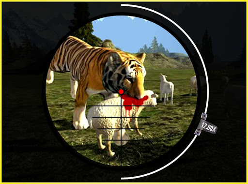 Tiger vs Hunter 3D
