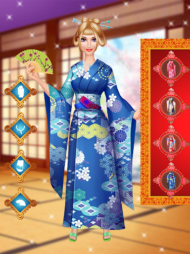 Chinese Doll Makeup - Fashion Doll Makeover Salon android2mod screenshots 3