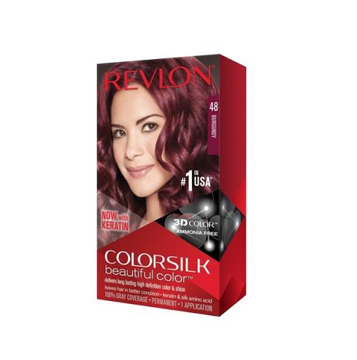 Tinte Revlon Colorsilk Kit 48 Borgona  Tinte Revlon Borgona