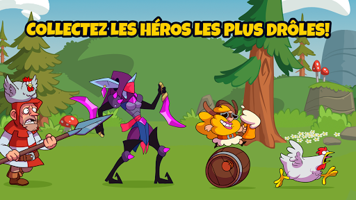What The Hen : Voilà les dragons !  captures d'écran 4
