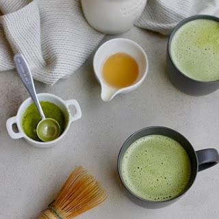Dairy-Free Matcha Latte.