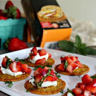 Strawberry and Goat Cheese Appetizers Recipe