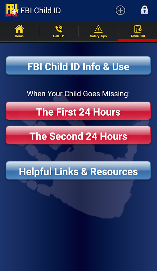 FBI Child ID - screenshot