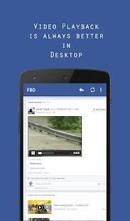 FBD 2 Desktop for Facebook - náhled